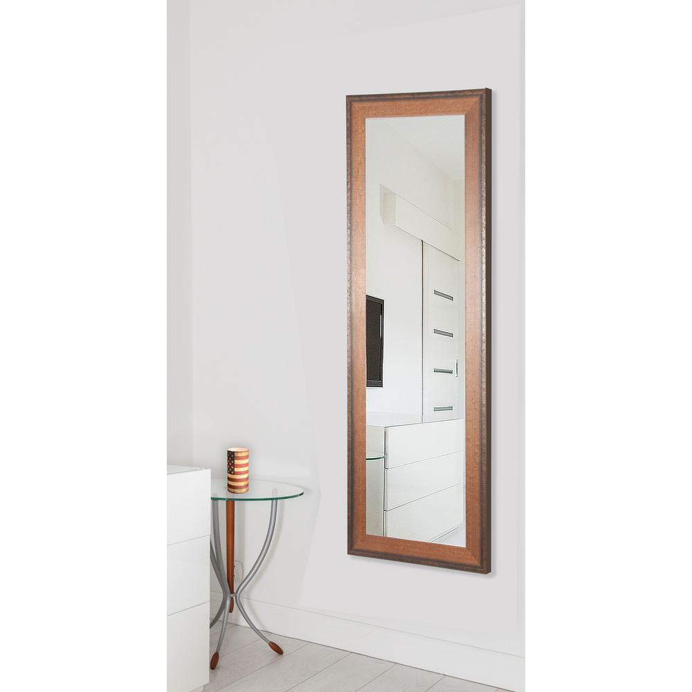 30 5 in x 65 5 in timber estate non beveled vanity floor mirror r052t the home depot for Floor vanity mirror