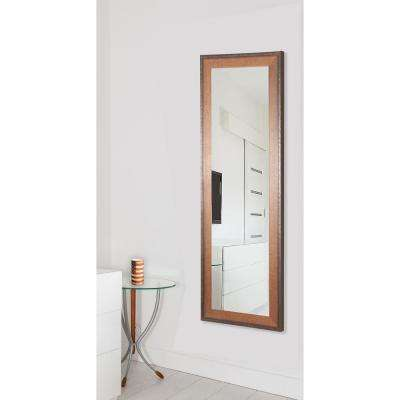 30.5 in. x 65.5 in. Timber Estate Non Beveled Vanity Floor Mirror