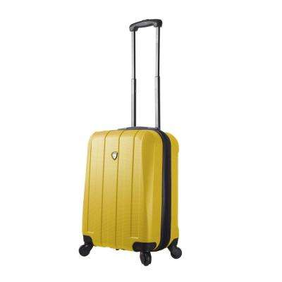 Tosetti 20 in. Gold Hardside Carry-On Spinner Suitcase