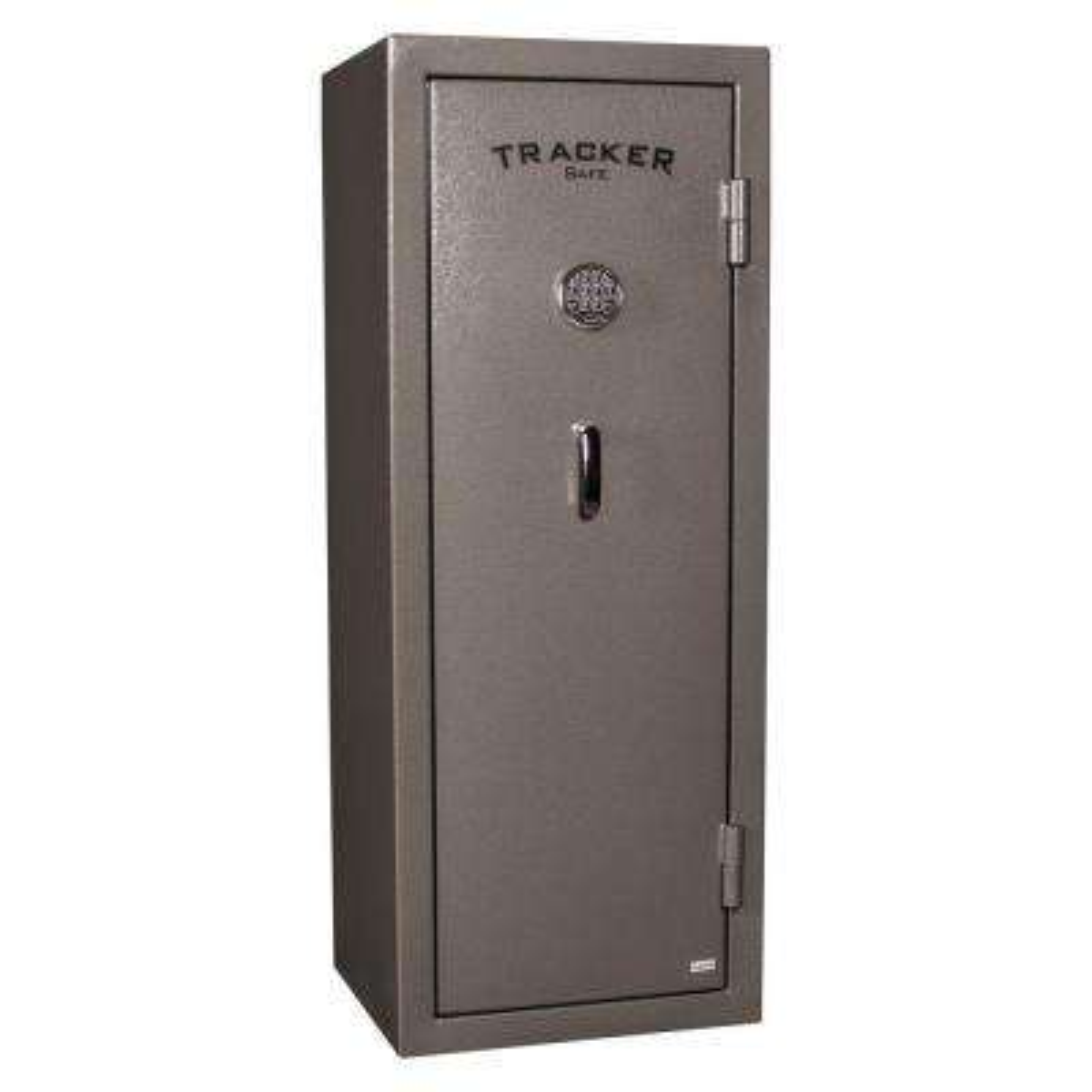 14-Gun Fire-Resistant Electronic Lock Gun Safe, Gray