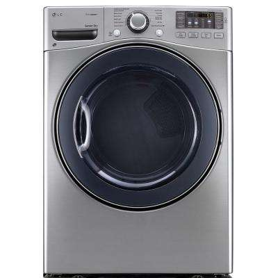 7.4 cu. ft. Electric Dryer with Steam in Graphite Steel