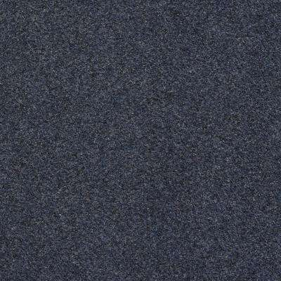 Seafront - Color Dark Blue Indoor/Outdoor 6 ft. Marine Texture Carpet