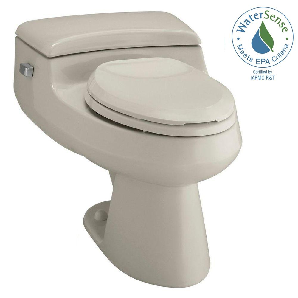 San Raphael Comfort Height 1-piece 1 GPF Single Flush Elongated Toilet