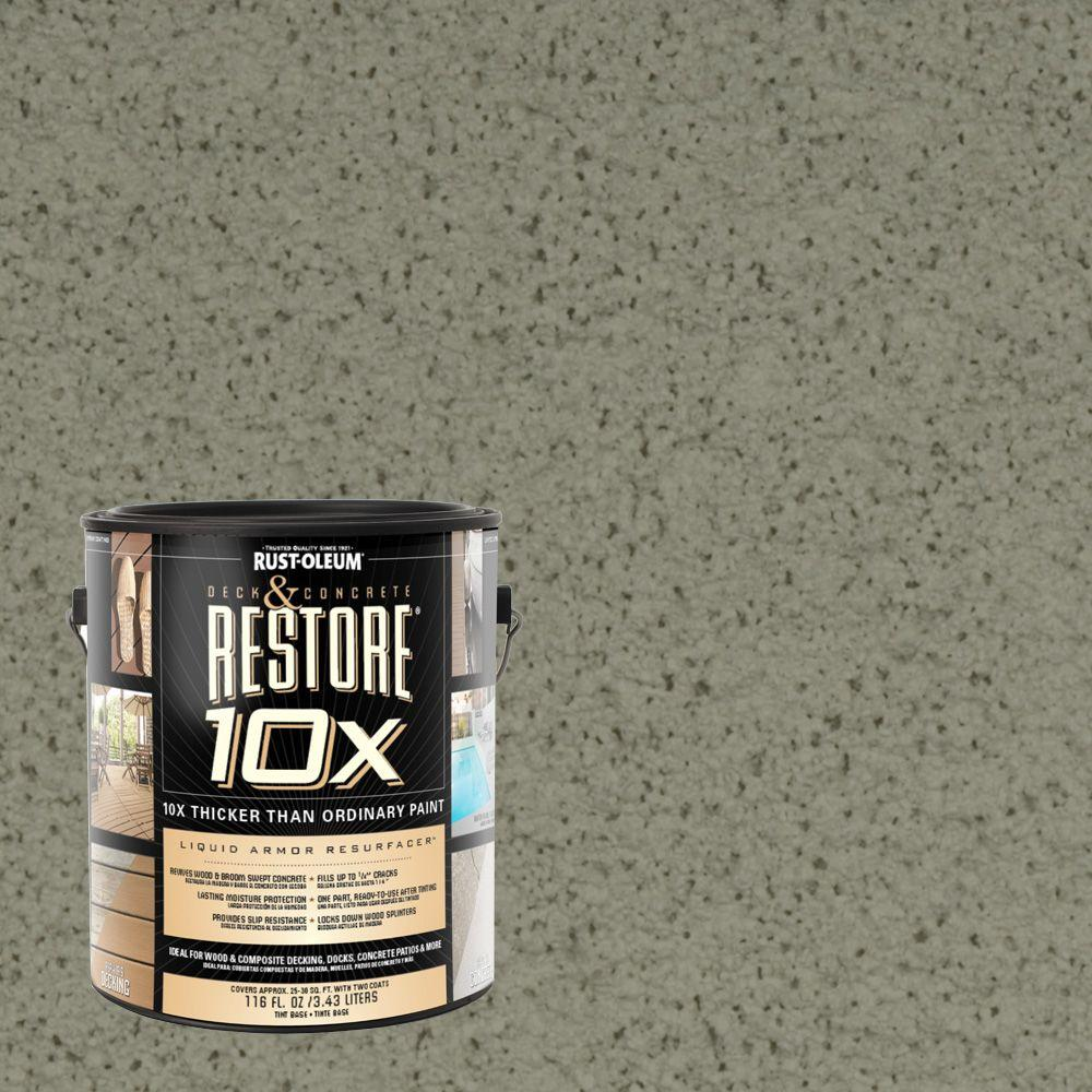 Rust-Oleum Restore 1-gal. Moss Deck and Concrete 10X Resurfacer