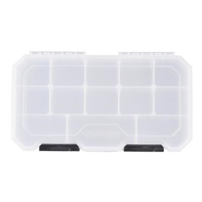 12 in. 13-Compartment Storage Bin Small Parts Organizer
