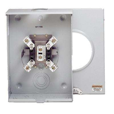 200 Amp Ringless OH/UG Single Meter Socket