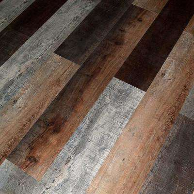 Brook Oak 12 mm Thick x 7.72 in. Wide x 48 in. Length Click-Locking Laminate Flooring Planks (17.943 sq. ft. / case)