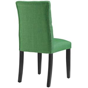 Excellent Modway Duchess Kelly Green Fabric Dining Chair Eei 2231 Grn Ibusinesslaw Wood Chair Design Ideas Ibusinesslaworg