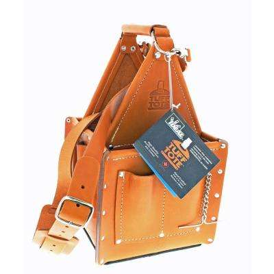 Tuff-Tote Ultimate Tool Carrier, Premium Leather with Strap