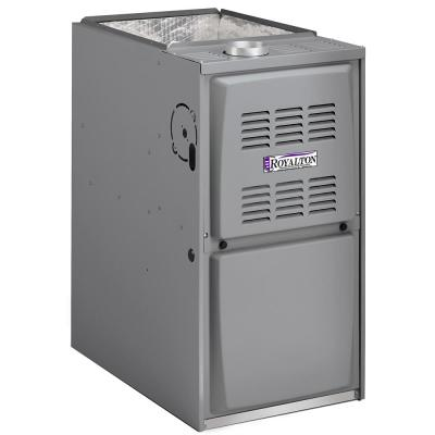 88,000 BTU 80% AFUE Single-Stage Upflow/Horizntal Forced Air Natural Gas Furnace with 5 Ton ECM Blower Motor