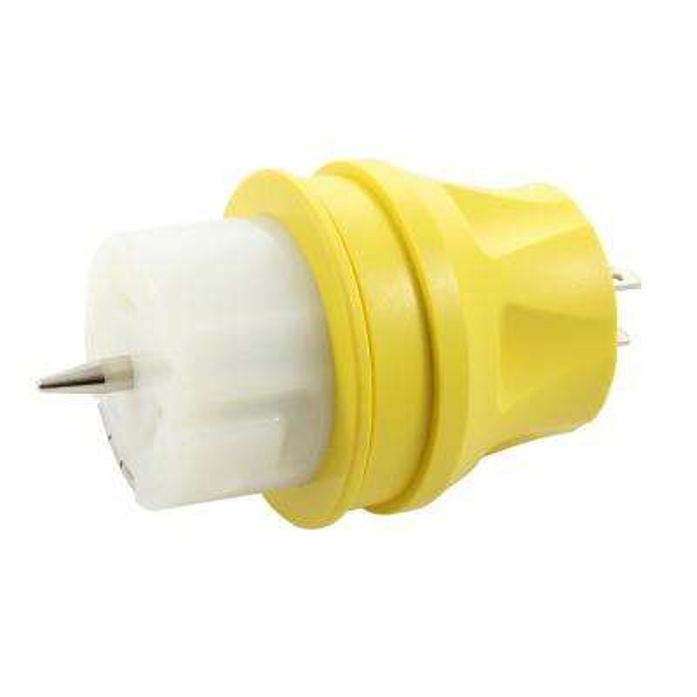 Transfer Switch/Temp Power Adapter Regular Household 15 Amp Plug to CS6364 50 Amp Locking Female Connector