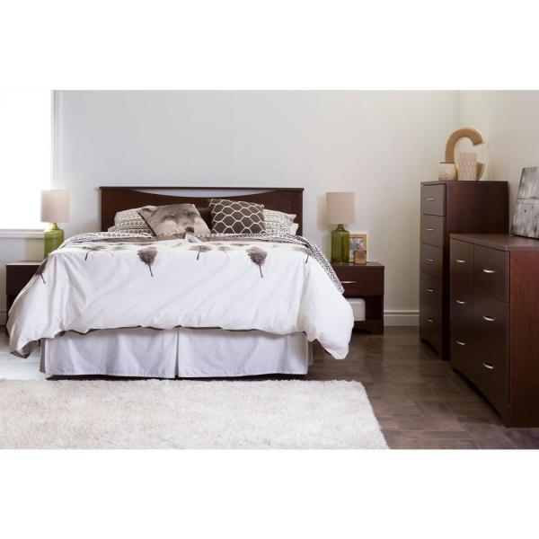 South Shore Step One Sumptuous Cherry Queen Headboard 10112