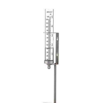 Decor Rain Gauge Satin Nickel