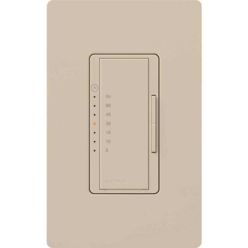 Lutron Maestro Timer Switch Wiring Great Installation Of Shade Diagrams 5 Amp In Wall Digital Taupe Ma T51 Tp The Rh Homedepot Com As Wh Diagram