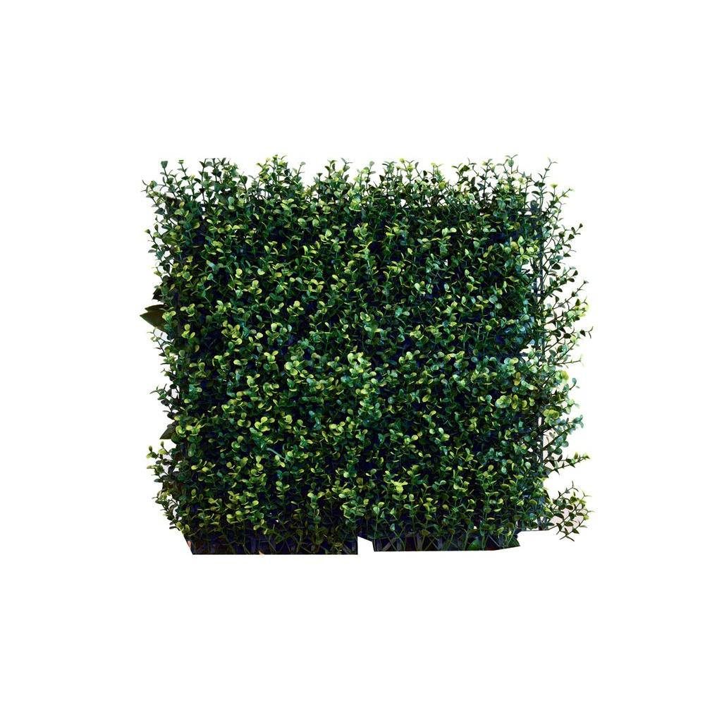 greensmart decor 20 in. x 20 in. artificial ficus spring wall panels