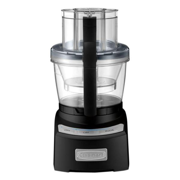 Cuisinart Elite 2.0 12-Cup Black Food Processor FP12BKN