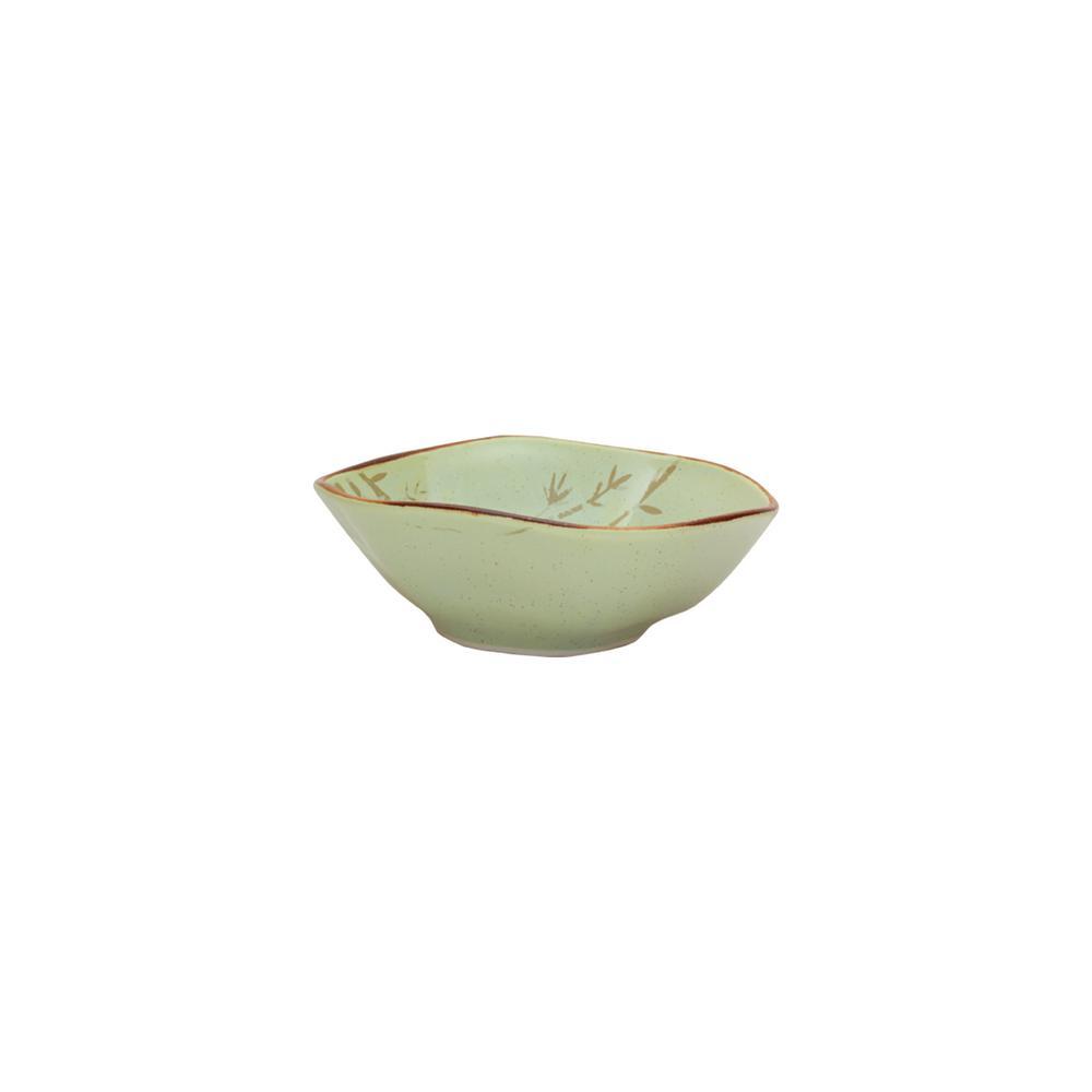 Manhattan Comfort RYO 20.29 oz. Green Porcelain Soup Bowls (Set of 6) was $89.99 now $52.55 (42.0% off)