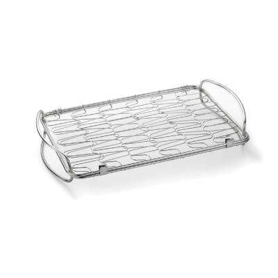 Mini Flex Grill Basket in Stainless-Steel