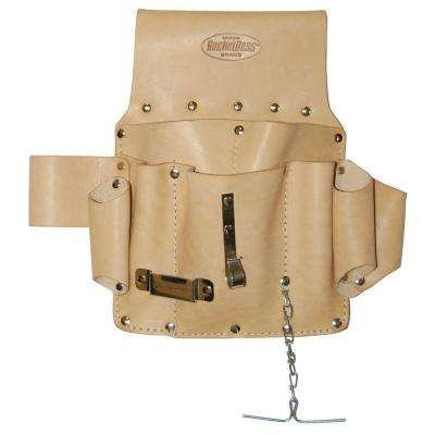 Saddle Leather Electrician's Pouch