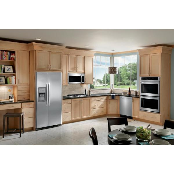 Frigidaire FFET2726TS 27 Inch 7.6 cu in Stainless Steel Total Capacity Electric Double Wall Oven with 2 Oven Racks ft