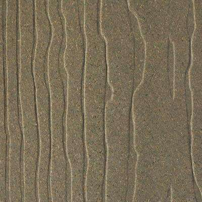 Vantage 1 in. x 5-3/8 in. x 1/4 ft. Earthtone Composite Decking Board Sample