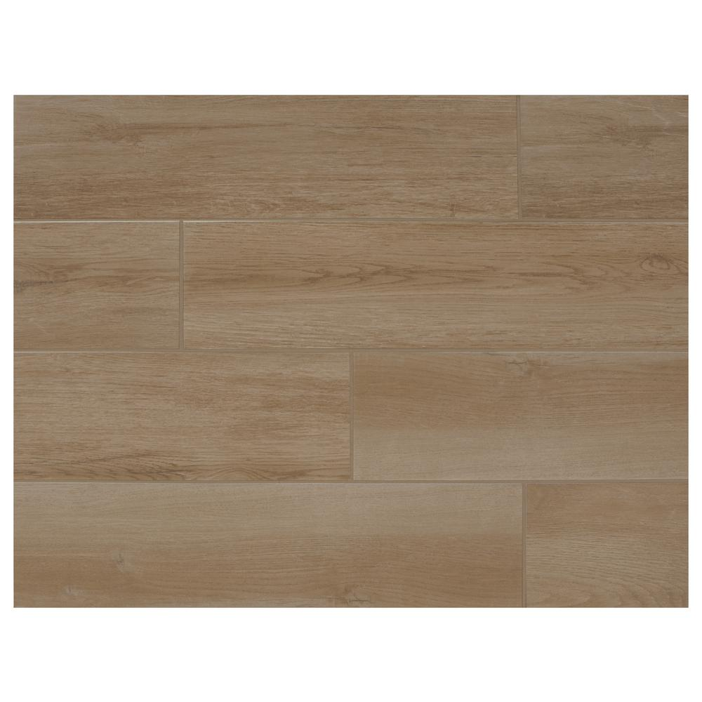 Marazzi Montagna Wheat 6 in. x 24 in. Porcelain Floor and Wall Tile (14.53 sq. ft. / case)
