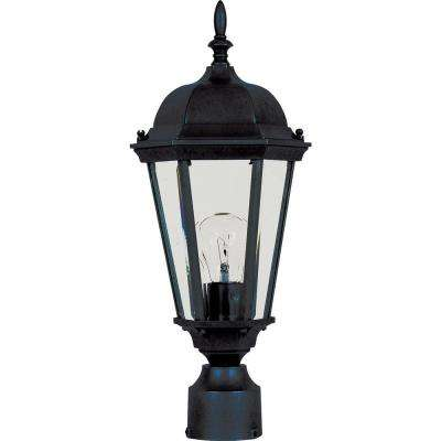 Westlake 1-Light Black Outdoor Pole/Post Mount