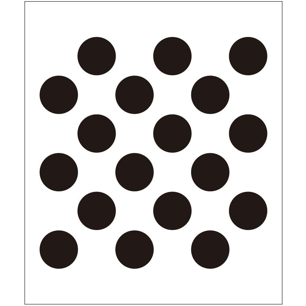Wall stencils wall decor the home depot polka dot painting stencils amipublicfo Choice Image
