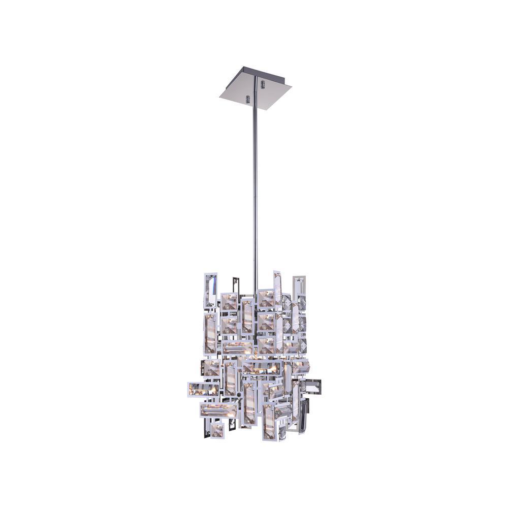 Cwi Lighting Arley 1 Light Chrome Chandelier 5689p6 1 S 601 The Home Depot