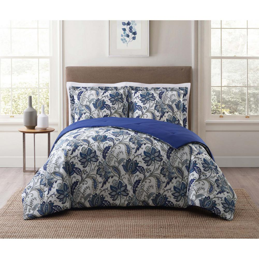 Bettina Floral Multi Full and Queen Comforter Set