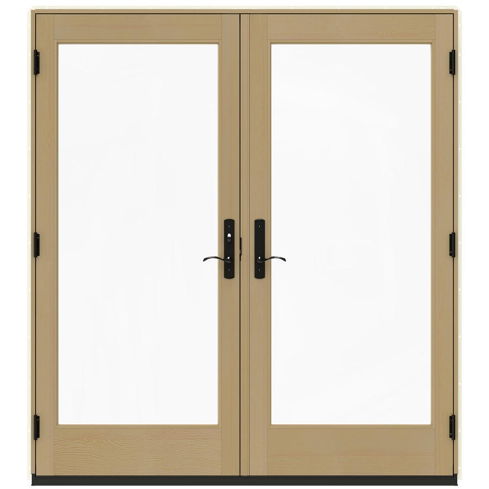 Patio Door Cladding : Jeld wen in w vanilla clad wood right