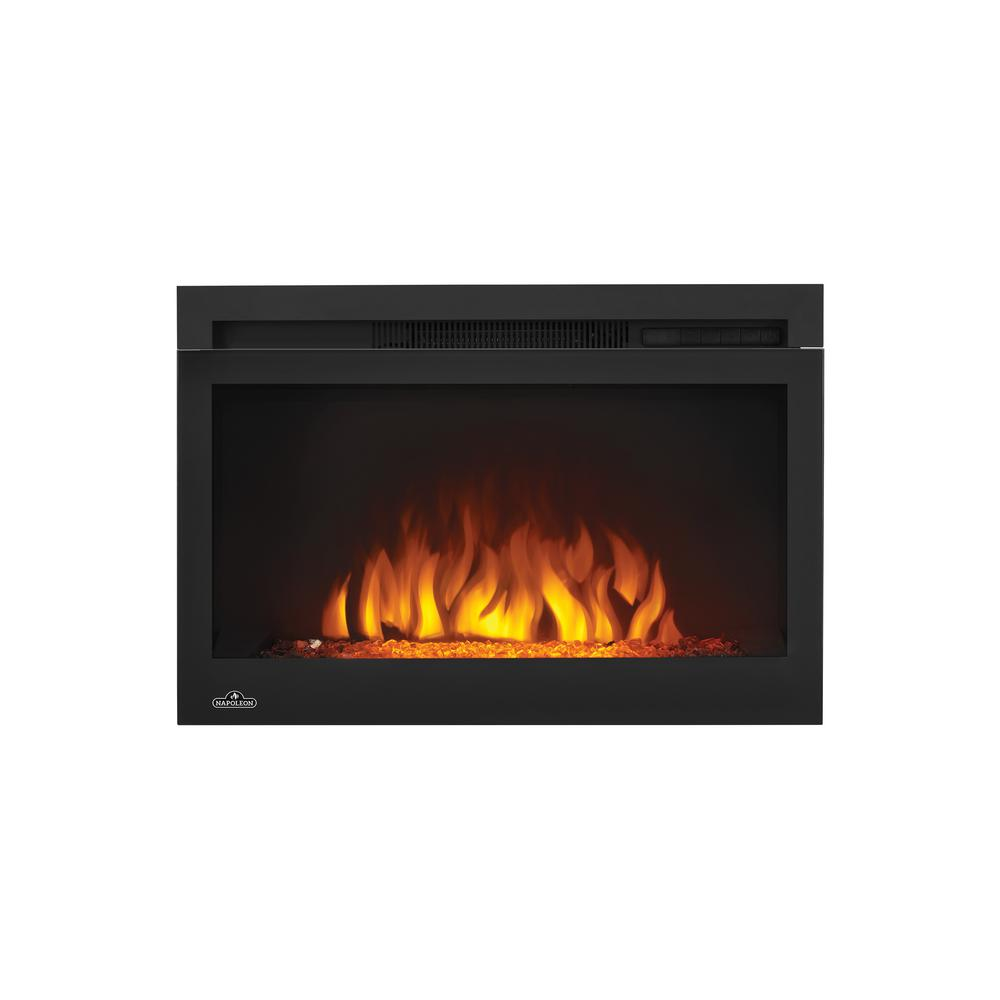 napoleon cinema series 27 in electric fireplace insert nefb27hg
