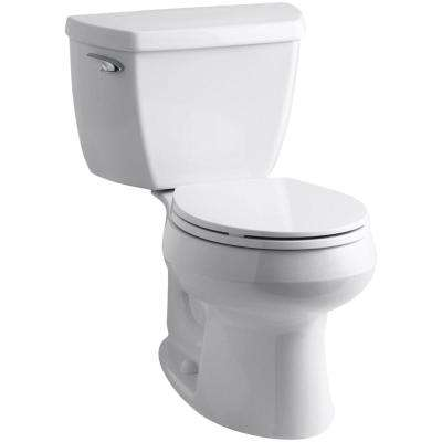 Wellworth Classic Complete Solution 2-Piece 1.28 GPF Single Flush Round Toilet in White