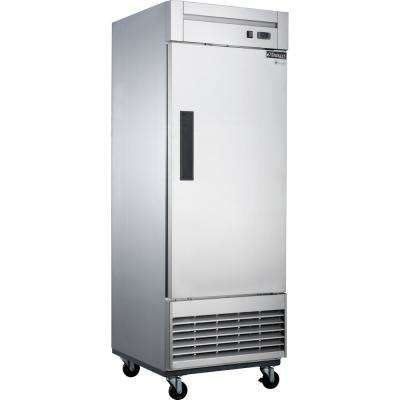 17.7 cu. ft. Single Door Commercial Refrigerator in Stainless Steel
