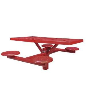 Ultra Play Canteen Inground Mount Commercial Picnic Table by Ultra Play