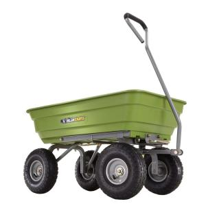 Gorilla Carts 600 lb. Poly Garden Dump Cart by Gorilla Carts