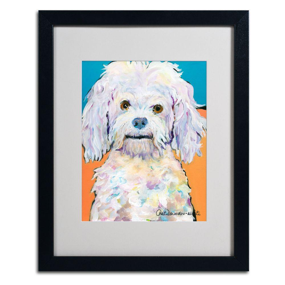 Trademark Fine Art 16 in. x 20 in. Lulu Matted Framed Wall Art