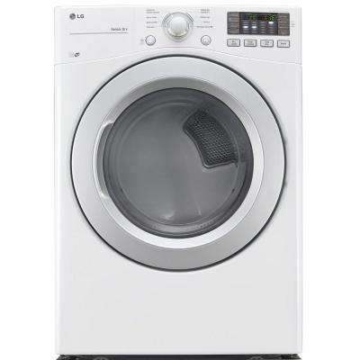 7.4 cu. ft. Electric Dryer in White, ENERGY STAR