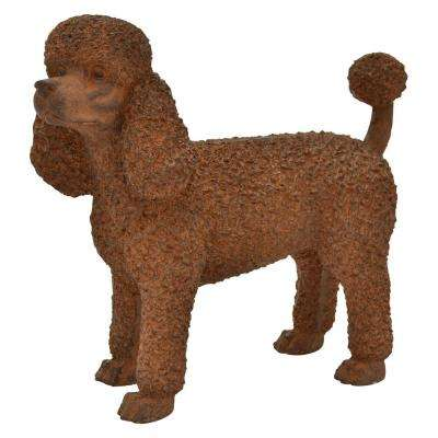 14 in. Brown Dog Standing (Poodle)