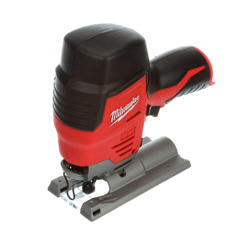 Milwaukee M12 12-Volt Lithium-Ion Cordless Compact Jig Saw (Tool-Only)