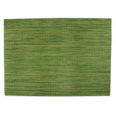 13 in. x 18 in. Indoor/Outdoor Placemat in Spring Sage