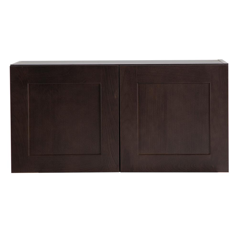 Dusk Cabinets: Hampton Bay Cambridge Assembled 30x15x12.5 In. Wall