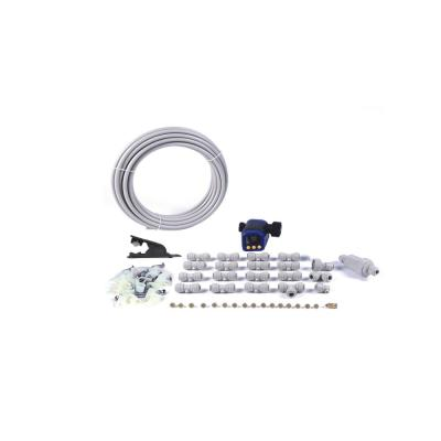 3/8 in. 40 ft. Slip Lock Misting Cooling Kit with Electro-Timer