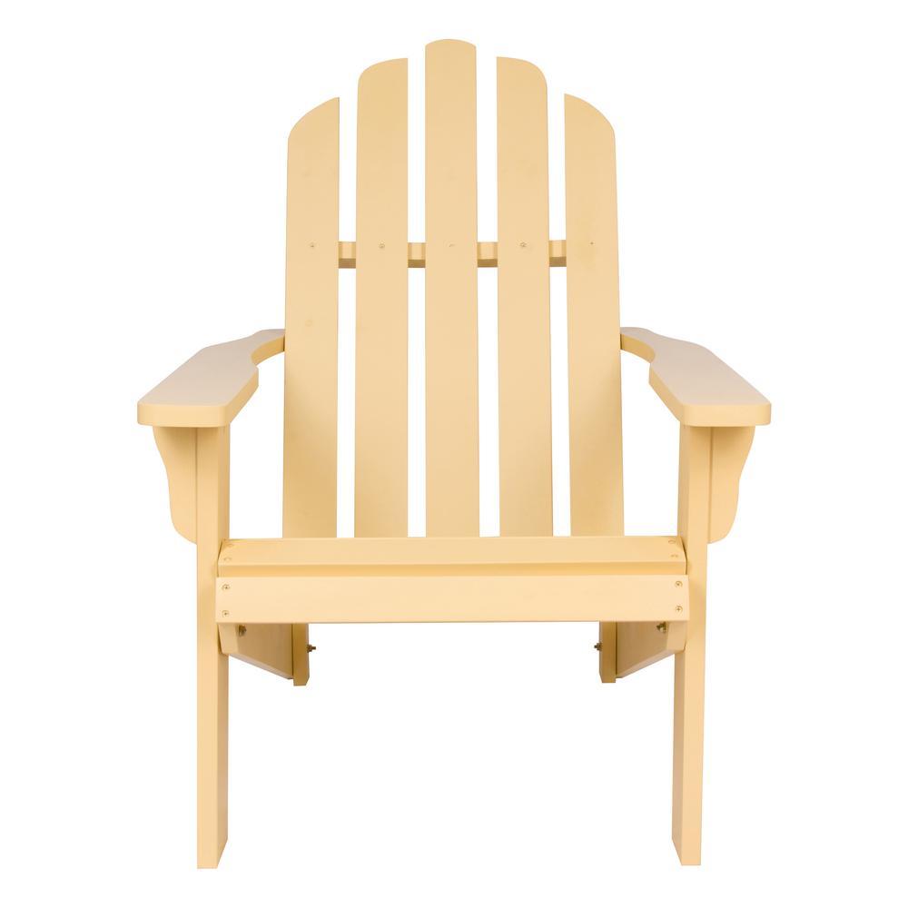 Marina Cedar Wood Adirondack Chair - Bee's Wax