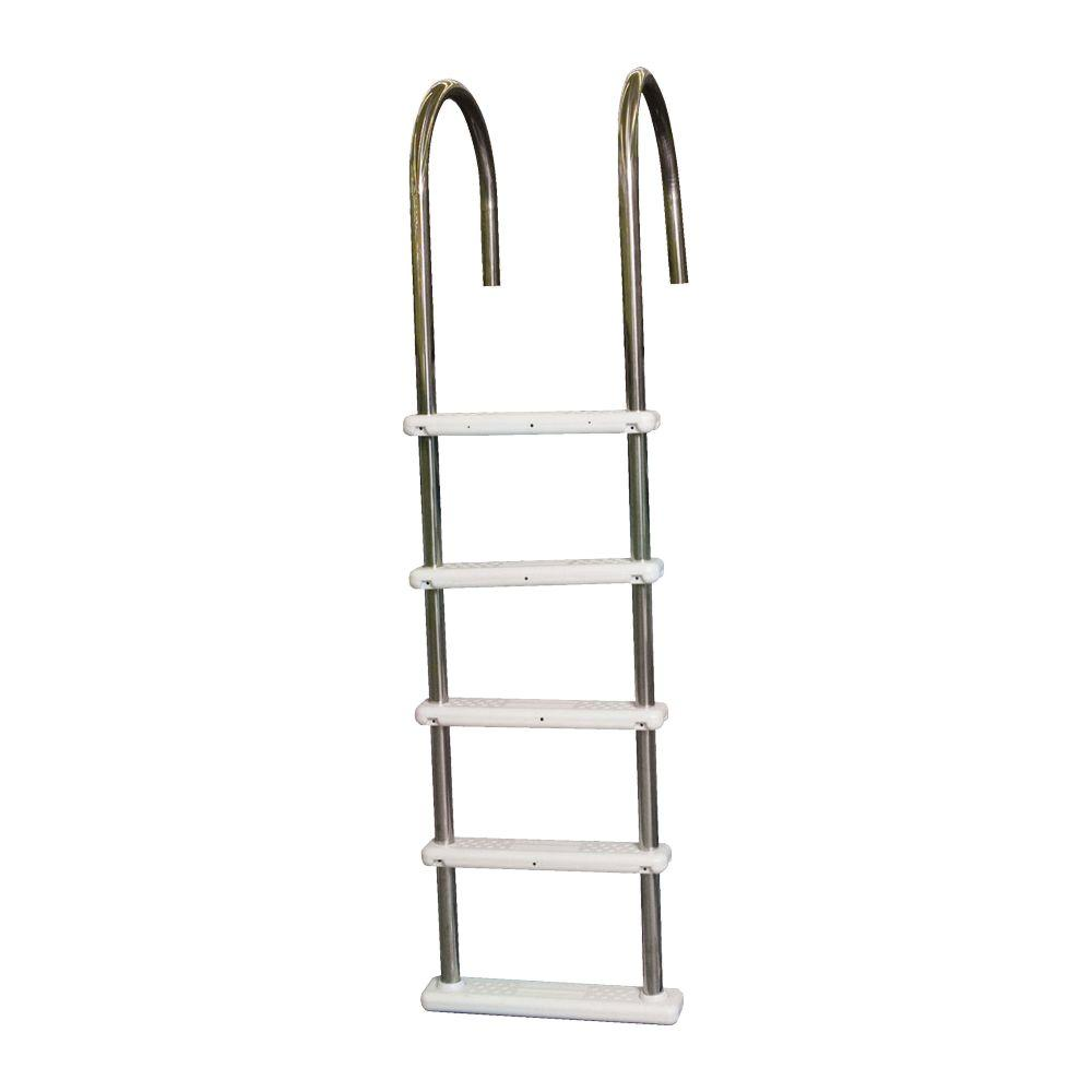 blue wave stainless steel in pool ladder for above ground pools ne122ss the home depot
