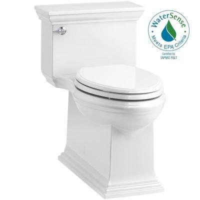 Memoirs Stately 1-piece 1.28 GPF Single Flush Elongated Toilet in White