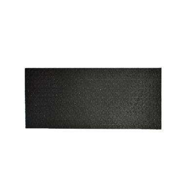 Secure Step-Black 8 in. x 24 in. Recycled Rubber Stair Tread (3-Pack)