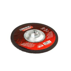 Lincoln Electric 4-1/2 inch x 1/4 inch Type 27 Grinding Wheel by Loln Electric