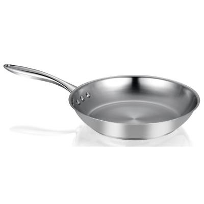 Earth Restaurant Edition 10 in. Stainless Steel Frying Pan