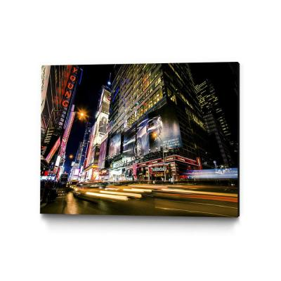 "30 in. x 40 in. ""Times Square Rays of Light VI"" by Guilliame Gaudet Wall Art"